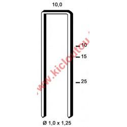 Agrafes G 4450 - 32 mm Galva - Boite de 5000