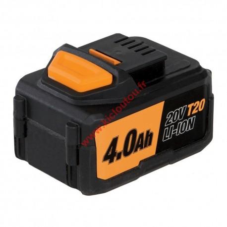 Triton T20HCB Batterie Li-ion haute capacité 4.0 Ah