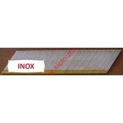 Pointes DA TD Brads 32 mm Inox