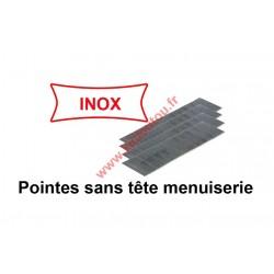 Pointes finettes sans tête 0.6 23GA - 10 mm inox A2 X 20000