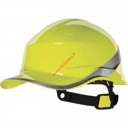 Casque de chantier Delta Diamond V Jaune
