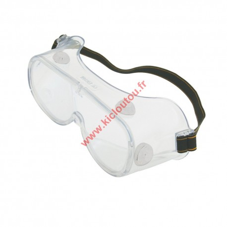 Lunettes de protection à ventilation indirecte Silverline 633740