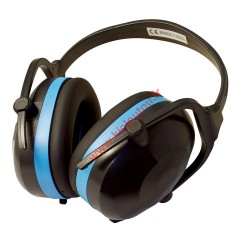 Casque anti-bruit pliable SNR 30 dB Silverline 633816