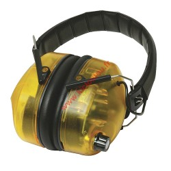 Casque anti-bruit électronique SNR 30 dB Silverline 659862