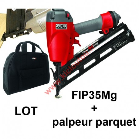 SENCO FinishPro 35 Mg Parquet FIP35 avec sac