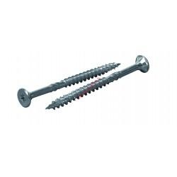 Vis construction bois Multi+ 6x200 /70 TF TX30 zinguée - Boite de 100 vis