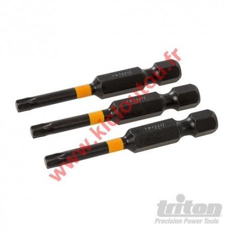 Embouts visseusse choc T20 50mm torx de 20 Triton 573611