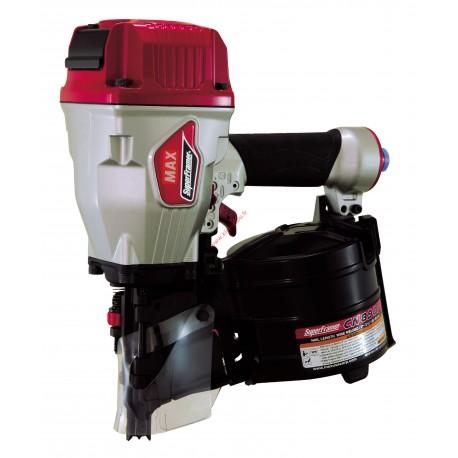 MAX CN890F Cloueur pneumatique 45-90mm pour clous en rouleaux