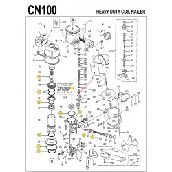 Kit joints MAX CN100 o-ring CN81061