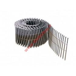Pointes en rouleaux 16° 3.25x100 mm crantées fil métal