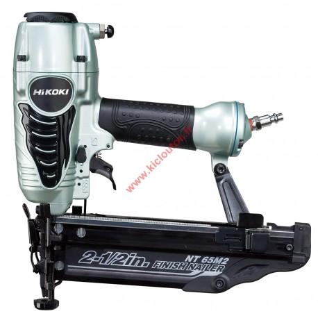 HITACHI-HIKOKI NT65M2 Cloueur pneumatique de finition brads 25 à 65 mm