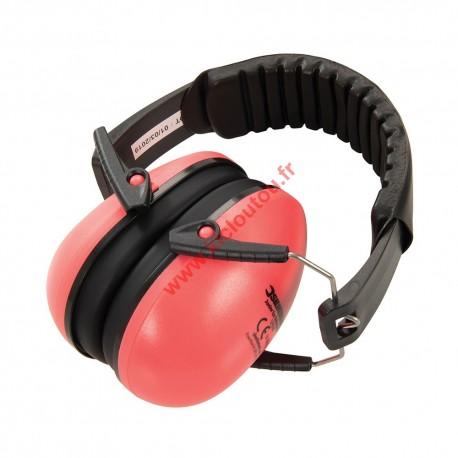 Casque anti-bruit pour enfant max 7 ans Rose Silverline 579540