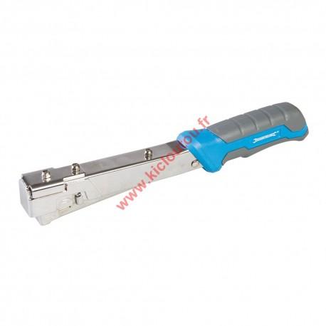 Agrafeuse marteau usage intensif 6 à 10 mm Silverline 564322