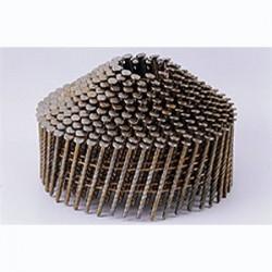 Pointes 16° 2.1x38 mm crantées en rouleaux coniques fil métal