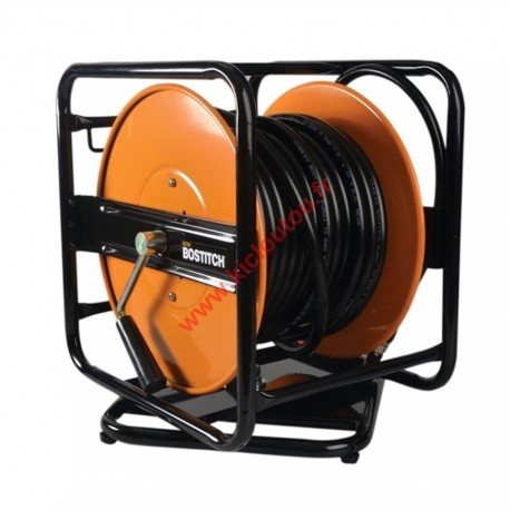 BOSTITCH CPACK30 Enrouleur métallique à manivelle tuyau air 30M BP