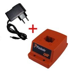 Lot Base chargeur Paslode 013229 + Secteur pour IM90I IM350 PPN50I