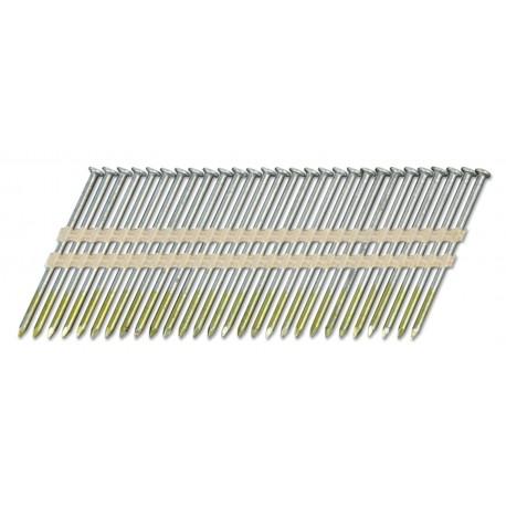 Pointes 20° ACIER LISSES 2.8x55 carton de 6000 clous