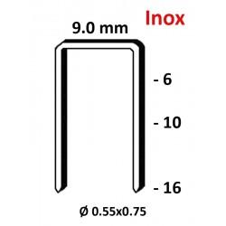 Agrafes 3G - 71 - 10mm inox - Boite de 10000
