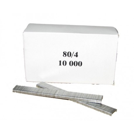 Agrafes 80 - 4mm Galva