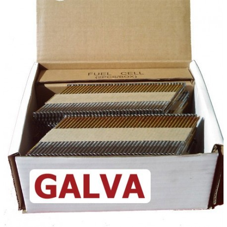 Pointes 34° RING GALVA 3.1x80 boite de 2000 avec gaz