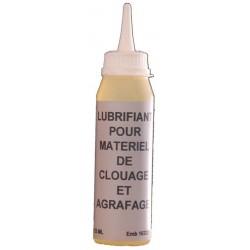 Burette d'huile 125ml spécial cloueur et agrafeuse