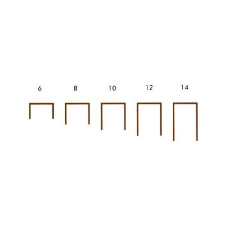 Agrafes T 50 - 6 mm