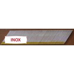 Pointes DA TD Brads 57 mm Inox - Boite de 4000 clous