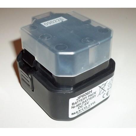Batterie MAX JP606H Ni-MH 6V pour GS690CH - GS690RH - GS865E