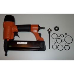 KICLOUTOU 8302 Cloueur pneumatique de finition + kit joint piston
