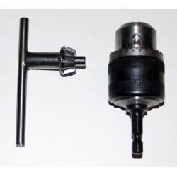 HITACHI 321823N Adaptateur mandrin à clef 10 mm + clé de serrage