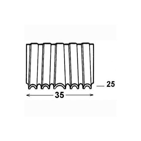 Agrafes CROCO CF 35 - 25 mm - Boite de 1920