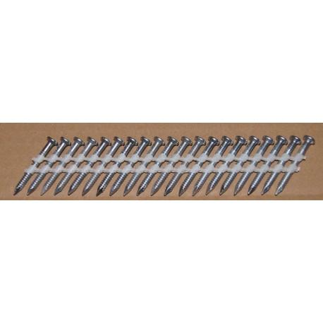 Clous d'ancrage 34° 4x40 mm - Boite de 2000 pour sabots de charpente