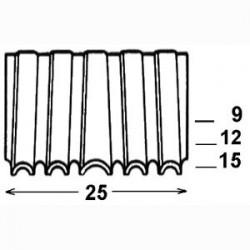 Agrafes CROCO CF 25 - 15 mm - Boite de 1500
