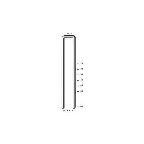 Agrafes KG700 - 25 mm Galva